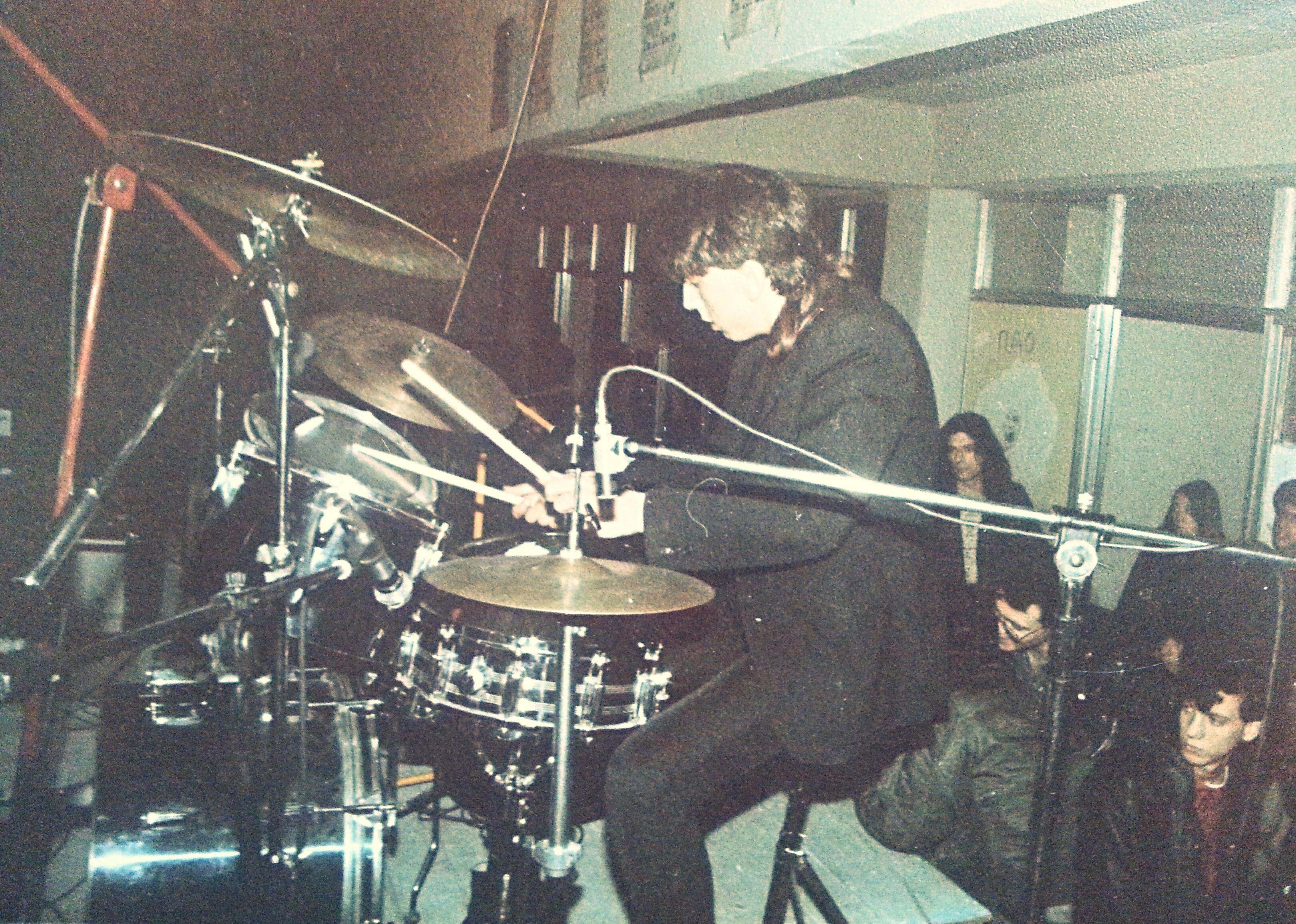 Ο Φοίβος. Από τη συναυλία στην Γκράβα, Μάρτης 1984.