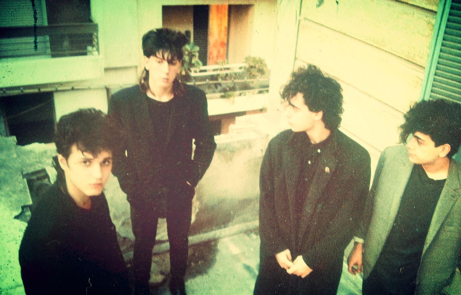 Από το στούντιο στην Τελέστου το 1984.