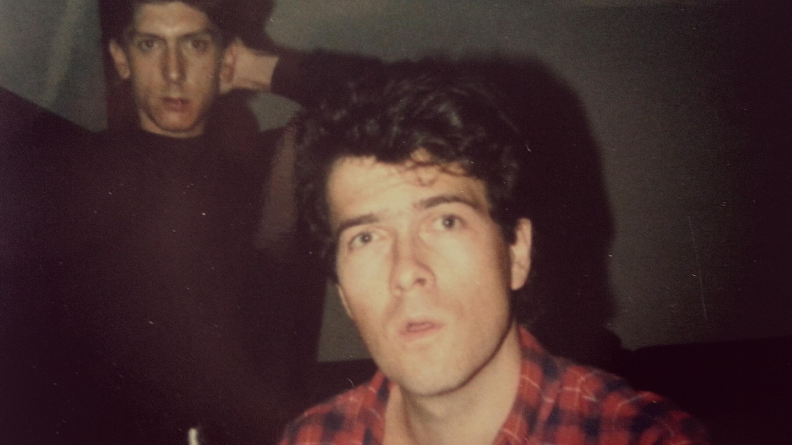 1987. από την ηχογράφηση του ομώνυμου τρίτου άλμπουμ των S.O.N.N. Ο Χρήστος Μανωλίτσης επί το έργο.