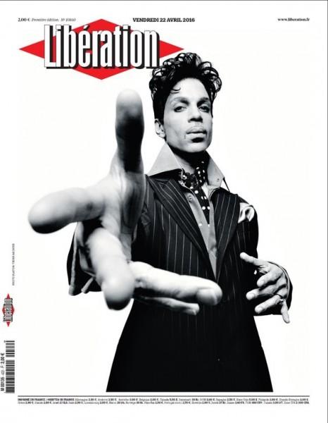 Ένα από τα ομορφότερα πρωτοσέλιδα που έγιναν για τον Prince ήταν εκείνο της γαλλικής εφημερίδα «Liberation».