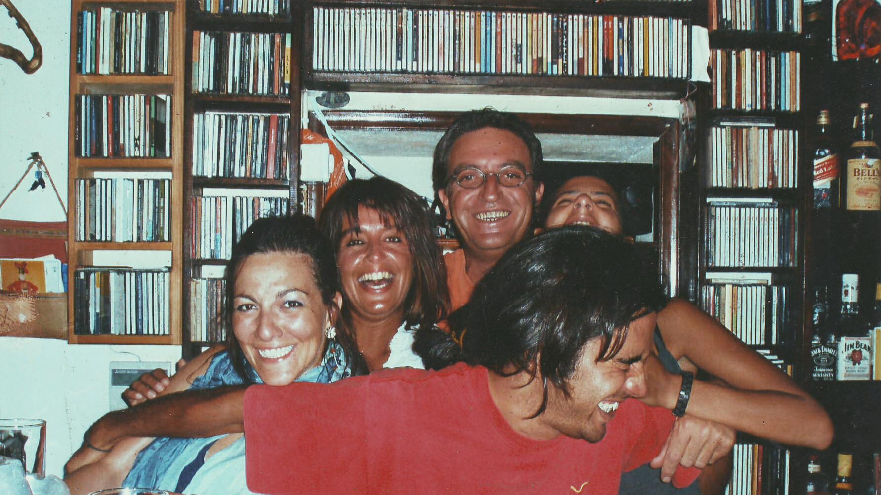 Καλοκαίρι-2006.-Ευτυχία-Μανώλης-Χρυσάνθη-Μαριανα-Λευτερης