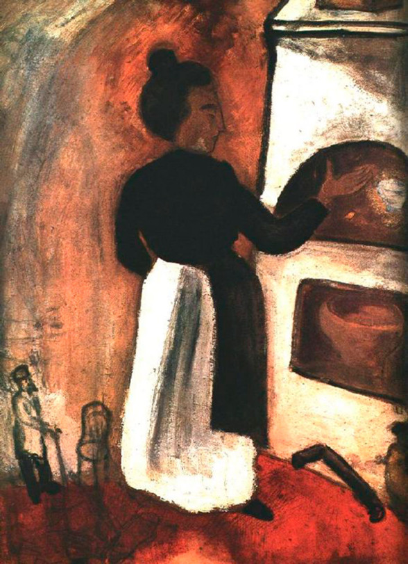 mother-by-the-oven-1914-588x811 chagall