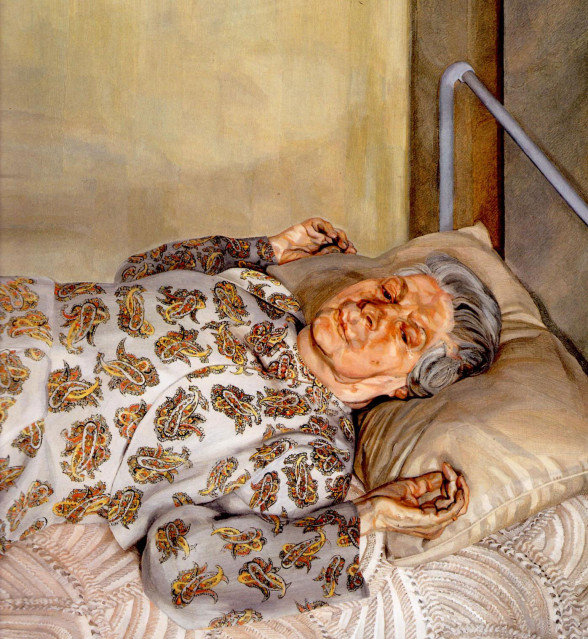 mother freud the-painter-s-mother-resting-i-1976-588x639