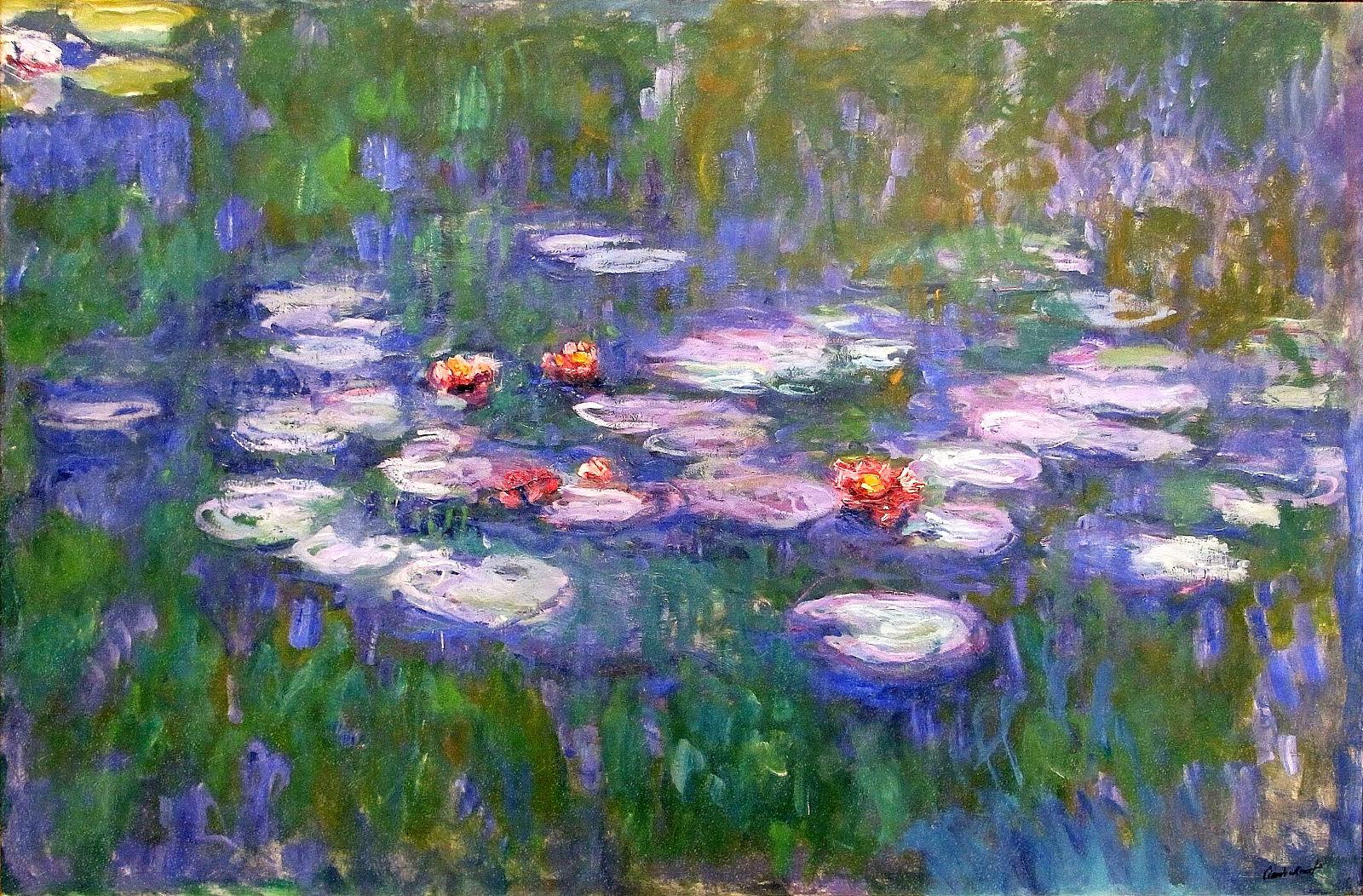 destroy monet water-lilies-1919-2