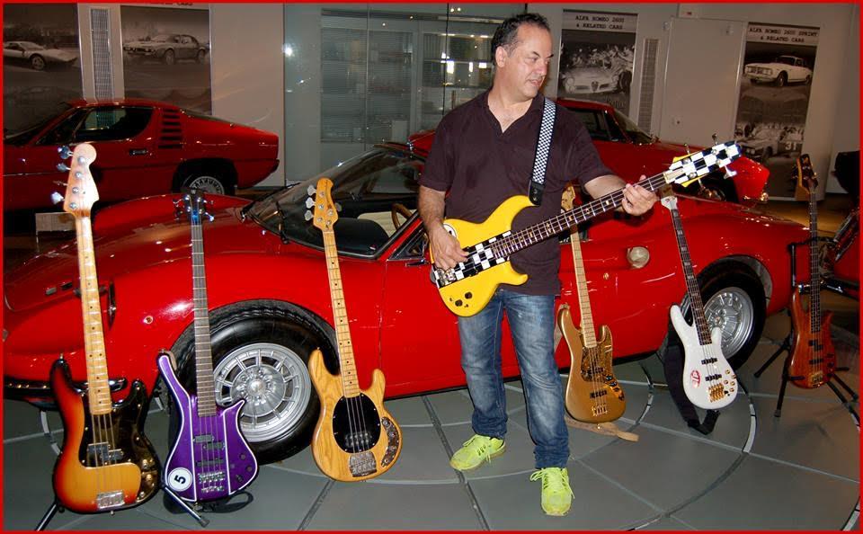 JOHN GRIGORIOU -BASS MAFIA bass collection