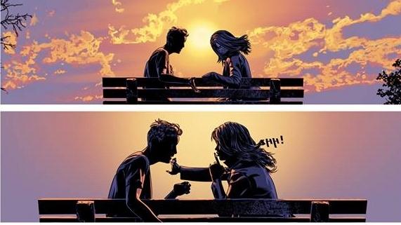 """Κόμικ. Η """"Φωτιά"""" από τις """"Εκδόσεις του Κάμπου"""" είναι ένα love story διάρκειας τριών σελίδων"""